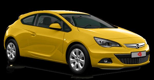 новый трехдверный желтый citroen