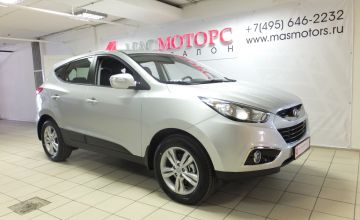 Hyundai ix35 Серебро