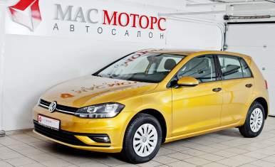 Volkswagen Golf Золотой металлик