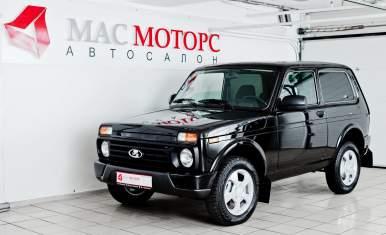 Lada 4X4 Urban 3D Черный
