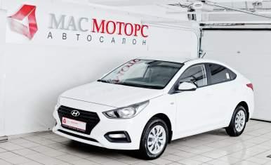 Hyundai Solaris Old Белый