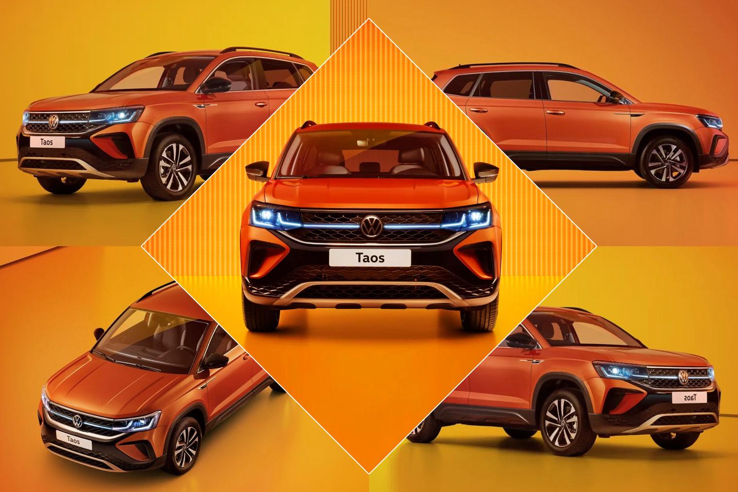 Кто ты, новый VW Taos? Конкурент Креты или брат-близнец Карока